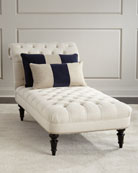 Roloson Tufted Chaise