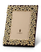 24k Gold-Plated Swarovski® Crystal Garland Picture Frame, 8 x 10