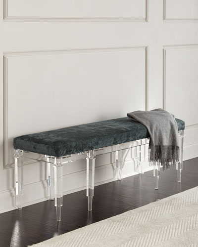 Battista Acrylic Bench