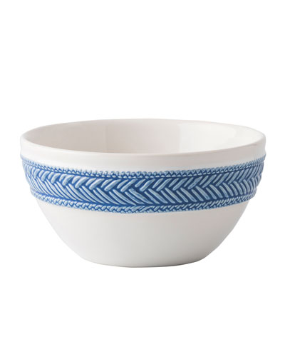 Le Panier White/Delft Blue Bowl