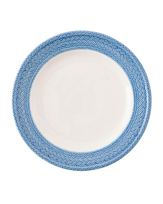 Juliska Dinnerwares LE PANIER WHITE/DELFT BLUE DINNER PLATE