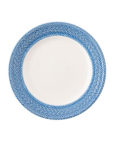 Le Panier White/Delft Blue Dessert/Salad Plate