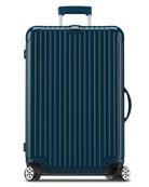 "Salsa Deluxe Electronic Tag Yachting Blue 29"" Multiwheel Luggage"