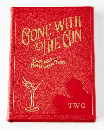 Gone with the Gin Leather-Covered Book