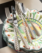 5-Piece Check Flatware Place Setting