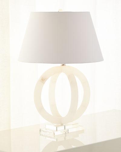 Quick look jamie young · circular alabaster lamp