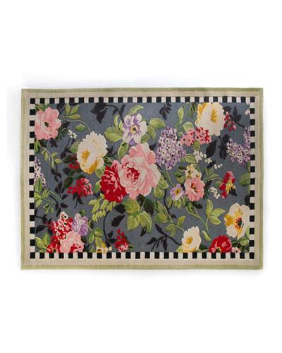 Tudor Rose Rug, 8' x 10'