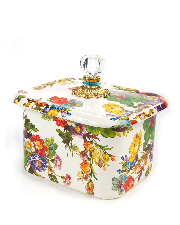 Flower Market Recipe Box