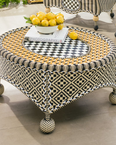 Courtyard Outdoor Coffee Table