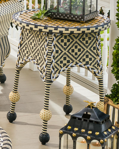 Courtyard Outdoor End Table