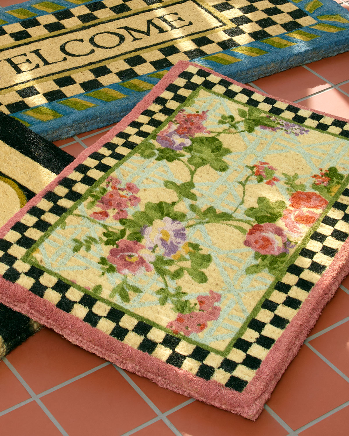 Morning Glory Entrance Doormat
