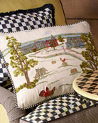 MacKenzie-Childs Farm Pillow