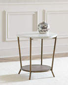 Raul Round End Table