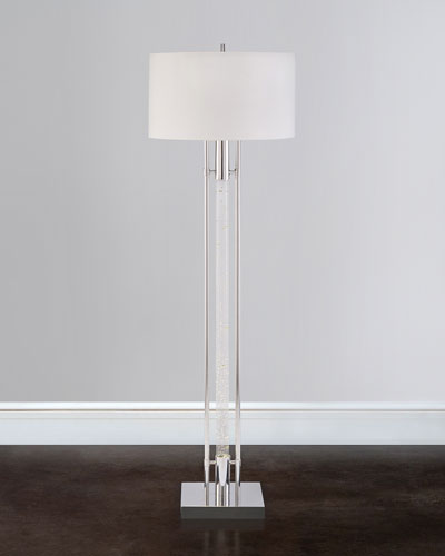 Body-Illuminating Interstellar Floor Lamp