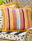Courtyard Outdoor Throw Pillow