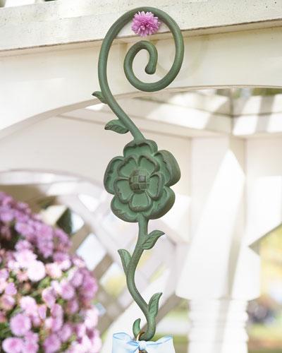 Flower Garden Birdhouse Hook