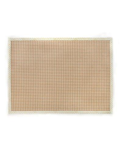 Houndstooth Wool/Sisal Rug, 8' x 10'
