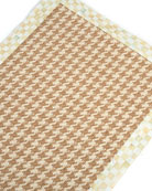 "Houndstooth Wool/Sisal Runner, 2'6"" x 9'"