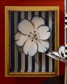 MacKenzie-Childs White Tulip Shadow Box