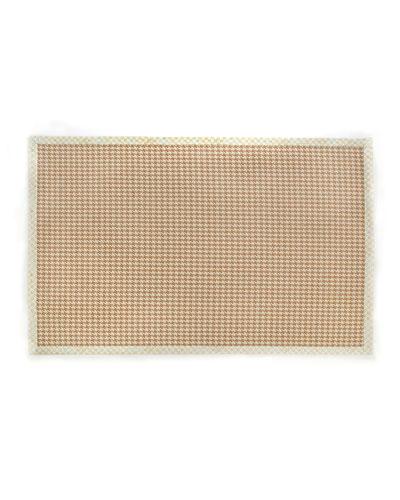 Houndstooth Wool/Sisal Rug, 6' x 9'