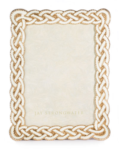 Cream Braided Frame, 5