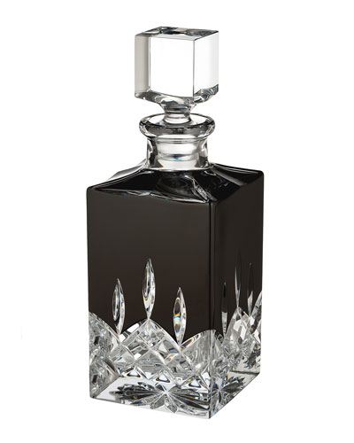 Lismore Black Decanter