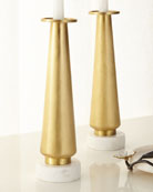 Dogwood Candleholders, Set of 2