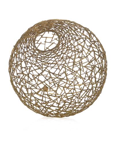 Decorative Thatch Ball, Small