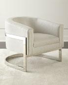 Dorota Houndstooth Chair