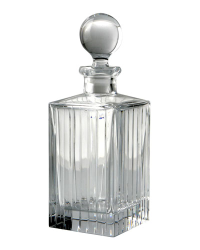 Avenue Crystal Decanter w/ Stopper