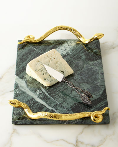 Rainforest Cheese Board and Knife