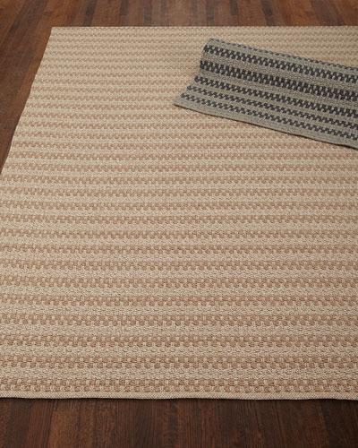 Deja Mirage Tweed Indoor/Outdoor Rug, 3'6