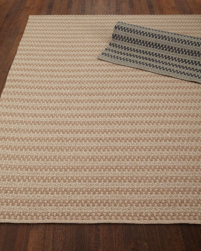 Deja Mirage Tweed Indoor/Outdoor Rug, 5' x 7'6