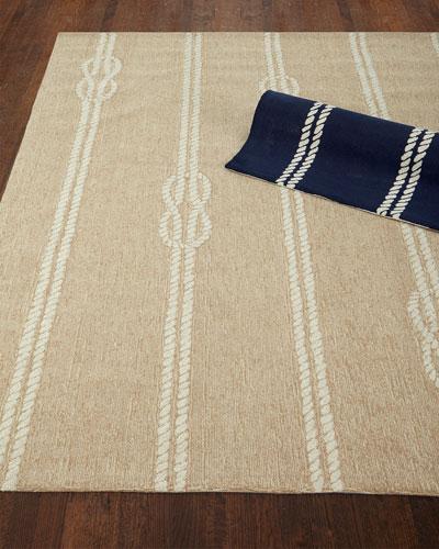 Knot & Rope Indoor/Outdoor Rug, 5' x 7'6