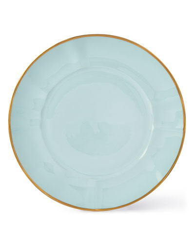 Powder Blue Dinner Plate