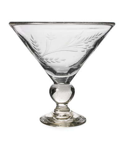 Wee-Bee Magnum Martini Glass, Clear
