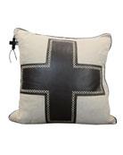 Black Cruz Pillow