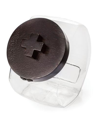 Cross Cookie Jar