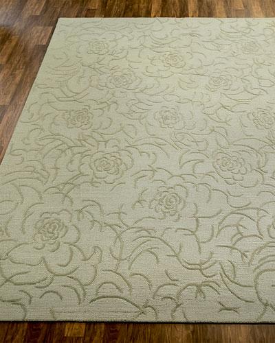Viviana Floral Rug, 6' x 9'
