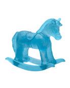 Blue Crystal Rocking Horse