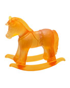 Amber Crystal Rocking Horse