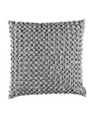 "Ribbon Pillow, 20""Sq."