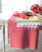 "Savannah Gardens Tablecloth, 90"" Round"