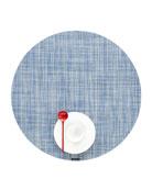 Mini-Basketweave Round Placemat