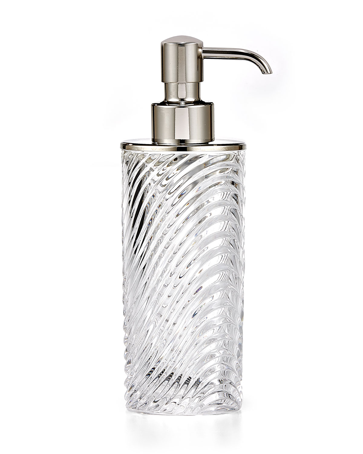 Onda Pump Dispenser with Polished Nickel Pump