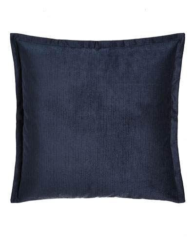 European Windfall Navy Velvet Sham