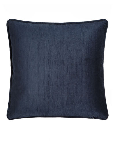 Windfall Navy Velvet Pillow, 20