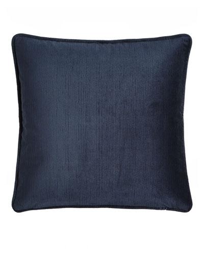 Windfall Navy Velvet Pillow, 20