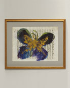 Abstract Butterfly Giclee