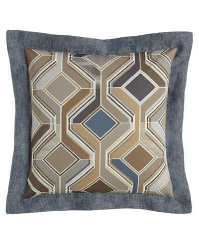 Maze Geometric Pillow, 18